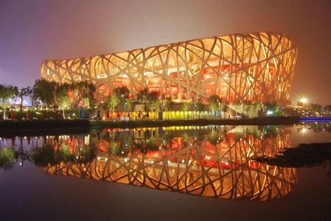 Sân vận động quốc gia Bắc Kinh - biểu tượng văn hóa hiện đại Trung Quốc