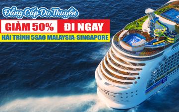 Tour Du Thuyền Voyager of the Sea 5Sao Khám Phá Đại Dương | Giảm 50% ngay hôm nay