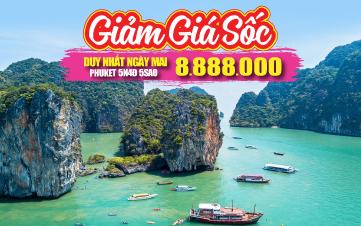 Du lịch Thái Lan thiên đường Phuket | đảo Phi Phi | vịnh Phang Nga | chùa Kathu