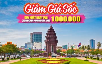 Thủ đô Pnomphenh 2N1Đ - Giá chỉ 1 triệu đồng