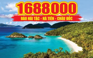 Du lịch Hà Tiên thập cảnh | Đảo Hải Tặc | Miếu Bà Chúa Xứ 3N2Đ