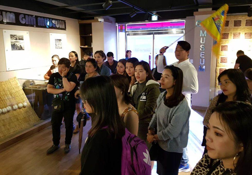 du lịch Hàn Quốc bảo tàng Rong biển