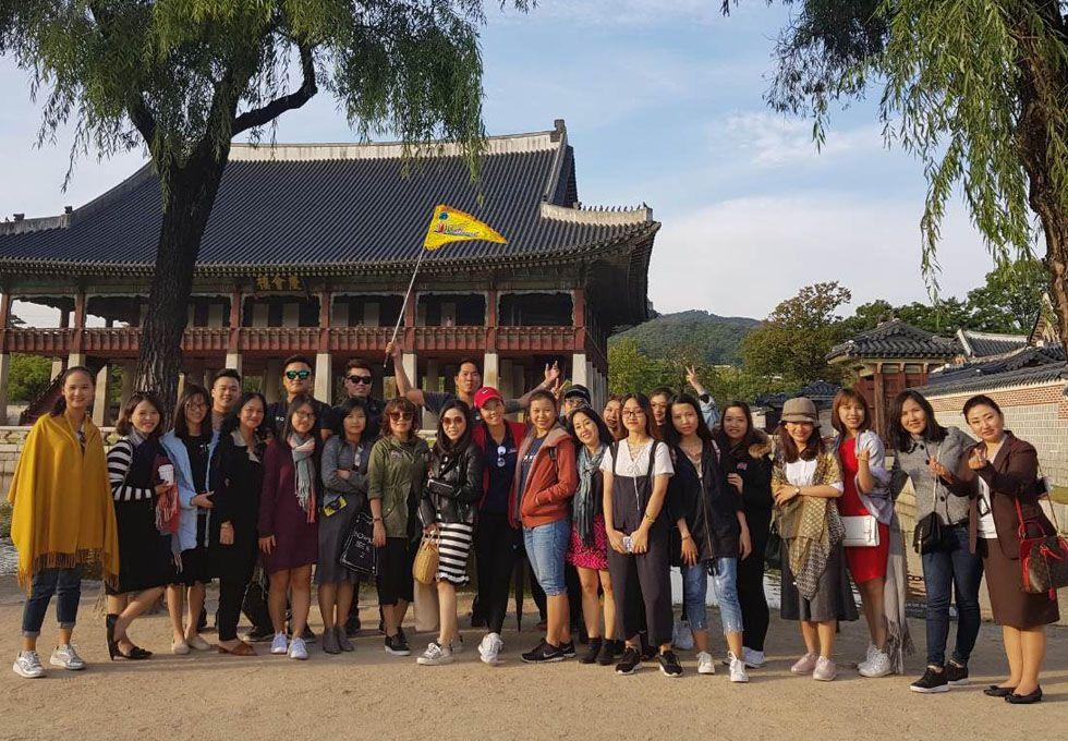 du lịch Hàn Quốc cung cảnh phúc