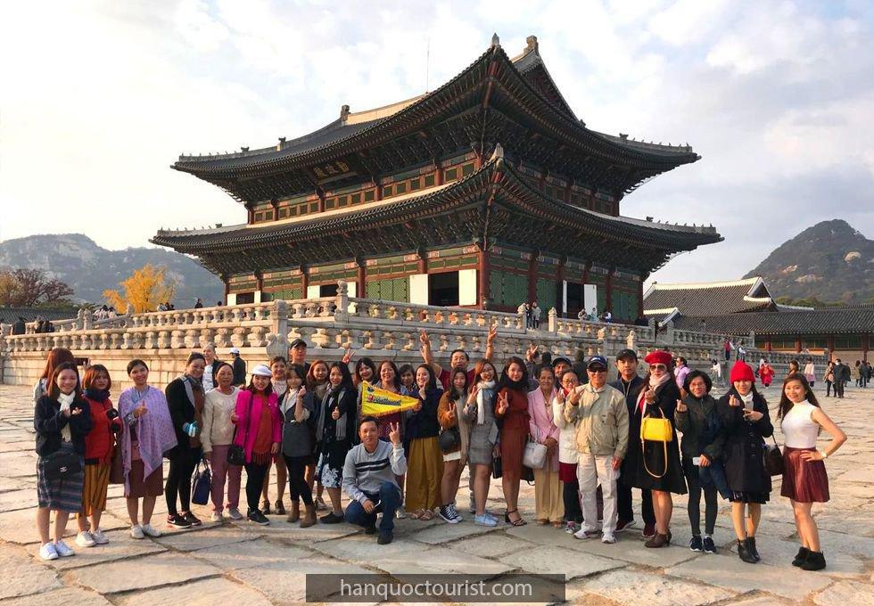 du lịch Hàn Quốc- cung cảnh phúc