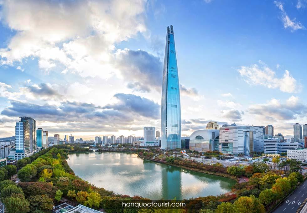 du lịch Hàn Quốc Lotte World