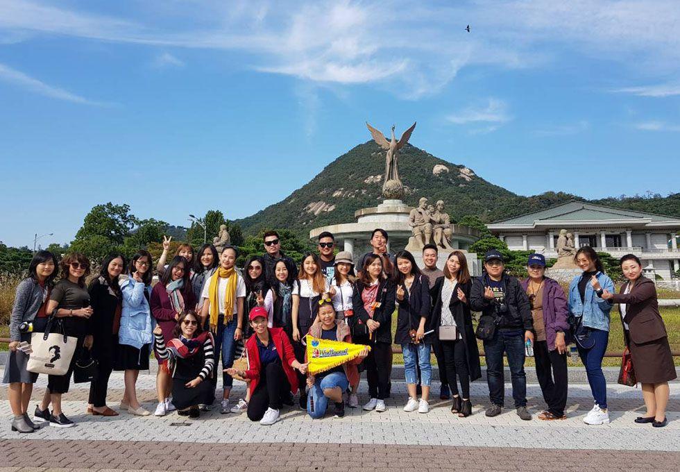 du lịch Hàn Quốc Dinh Tổng Thống