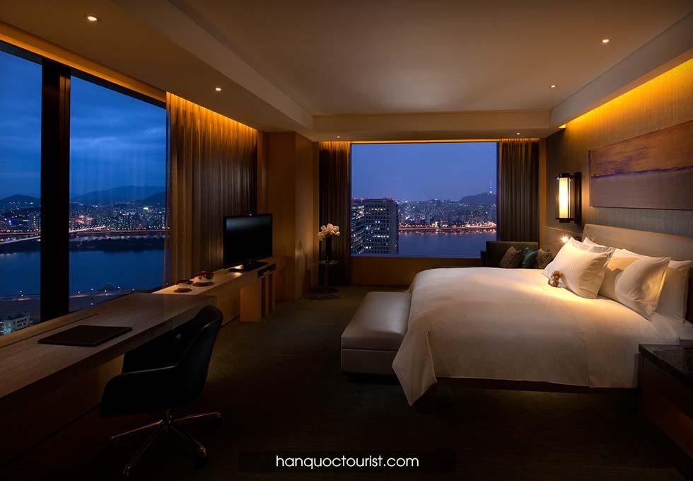 du lịch Hàn Quốc- khách sạn