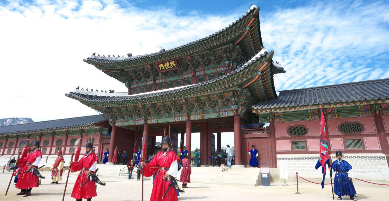 Kết quả hình ảnh cho Cung điện Gyeongbok