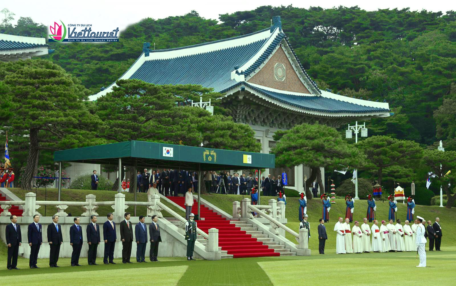 Nhà Xanh - Biểu tượng quyền lực chính trị của Hàn Quốc