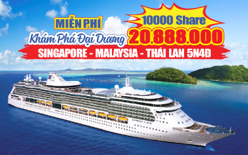 Tour Hè Singapore | Penang | Langkawi 5N4Đ - Du thuyền 5 sao Mariner of the Seas