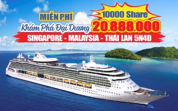 Tour Hè Singapore   Penang   Langkawi 5N4Đ - Du thuyền 5 sao Mariner of the Seas