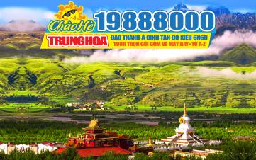 Tour du lịch Trung Quốc hè - TÂY TẠNG tại TỨ XUYÊN thắng cảnh Á Đinh - Đạo thành thiên đường tận cùng nhân gian