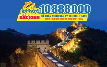 Tour du lịch hè Trung Quốc | Bắc Kinh | Vạn Lý Trường Thành 5N4Đ