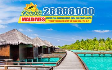 Tour du lịch Maldives Resort 4sao | Ngoài Đại Dương 4N3Đ