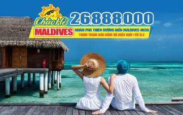 Tour du lịch Maldives hè giá Rẻ Chưa Từng Có