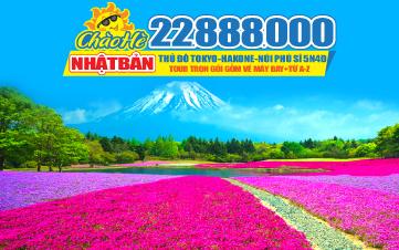 Tour du lịch Nhật Bản Tokyo | Núi Phú Sĩ 4Sao 5N4Đ Bay thẳng 22tr888