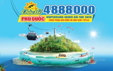 Du Lịch Hè Phú Quốc | Vinpearland | Tắm biển Bãi Sao 3N2Đ