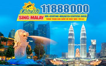 TOUR DU LỊCH HÈ | MALAYSIA | SINGAPORE | MALAYSIA | 6N5D