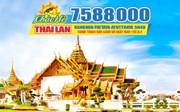 Tour du Lịch Thái Lan Hè Bangkok | Pattaya | Ayutthaya | 5N4Đ