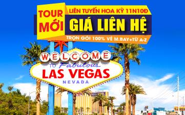 Liên tuyến Đông Tây.New York- Philadelphia - Washington DC- Las Vegas - Grand Canyon- Los Angeles. Tặng 2 đêm khách sạn Venetian Las Vegas 5*
