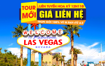 Liên tuyến Đông Tây.New York | Philadelphia | Washington DC | Las Vegas | Grand Canyon | Los Angeles | San Francisco | 12N11Đ