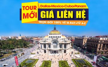 Dallas-Mexico-Cuba-Panama.