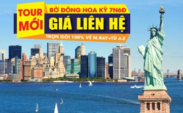 Bờ Đông Hoa Kỳ - New York | Philadelphia | Washington DC | 7N6Đ