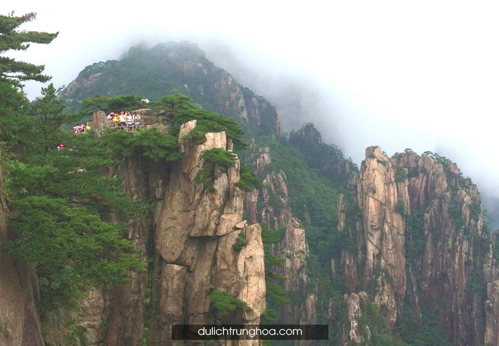 du lịch Hoàng Sơn Quang Minh Đỉnh