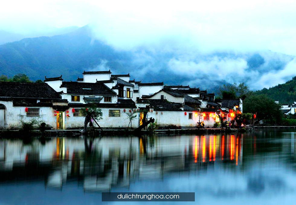 du lịch Hoàng Sơn Hoành Thôn