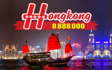 Du lịch Hongkong 4Sao 8tr888 | Disneyland | Đại Nhĩ Sơn cuối tuần 3N2Đ