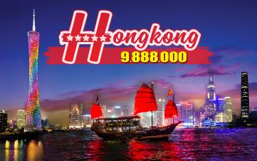 Du lịch Hongkong | Quảng Châu | Thẩm Quyến 4N4Đ