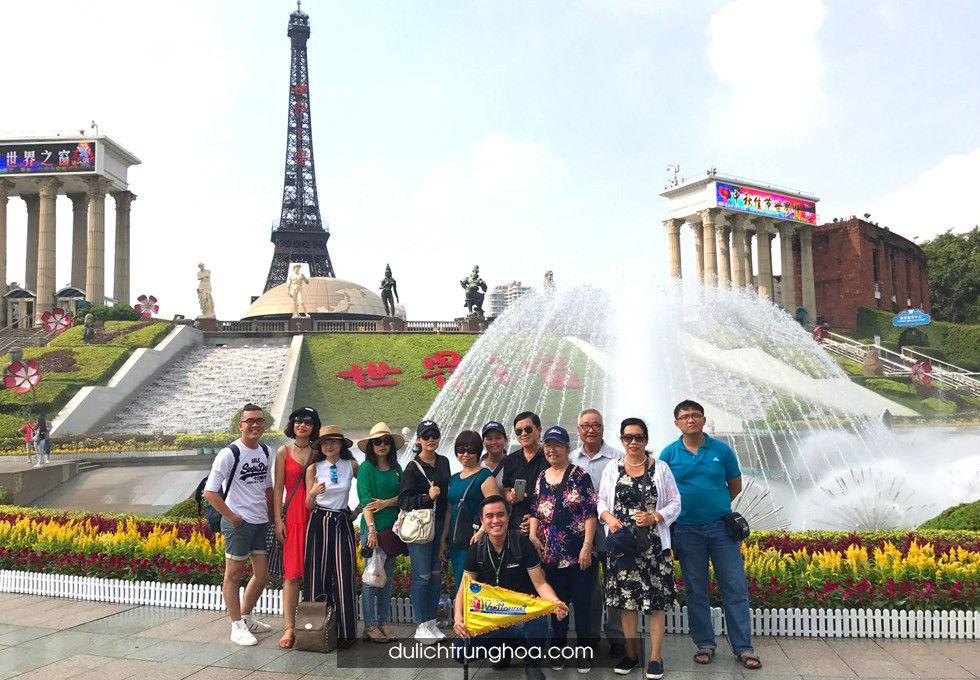 du lịch Quảng Châu Thẩm Quyến