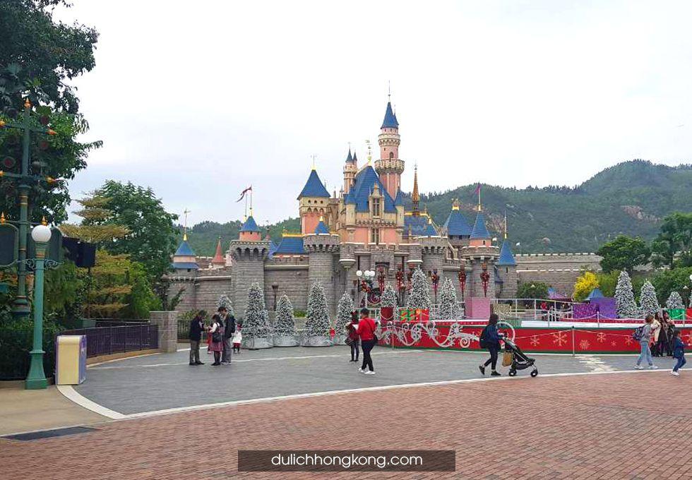du lịch hongkong disneyland