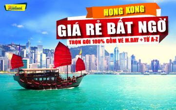 DU LỊCH HONGKONG 4SAO 4N3Đ