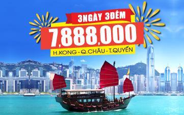 Du lịch HongKong | Quảng Châu | Thẩm Quyến 4Sao 3N3Đ