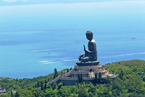 Phật Thích ca lớn nhất Châu Á – Trên đỉnh Đại Nhĩ Sơn Hồng Kông
