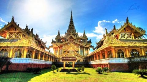 Cung điện Kanbawzathardi - Viên ngọc quý của Myanmar