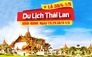 Du Lịch Thái Lan Lễ 30/4 Bangkok | Pattaya | Ayutthaya 5N4Đ (Jetstar)