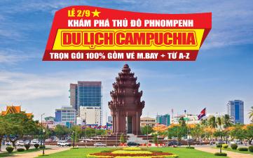 Viếng Thăm thủ đô Pnomphenh Lễ 2/9