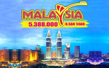 Du lịch Malaysia 4Sao Giảm 1 Triệu chỉ còn 5tr388  Kualalumpur | Putrajaya | Malacca | Genting 3N2Đ