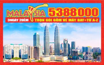 Du lịch Malaysia 4Sao Giảm 1 Triệu Kualalumpur   Putrajaya   Malacca   Genting 3N2Đ