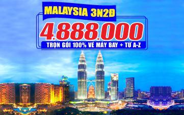 Tour Malaysia 3N2Đ - Đồng Thương Hiệu GROUPTOURVN