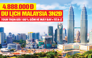 Tour Du lịch Malaysia Kualalumpur | Putrajaya | Genting | 3N2Đ