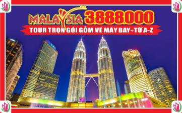 Chương Trình Ưu Đãi Đặc Biệt Khách Hàng Malaysia 3N2Đ