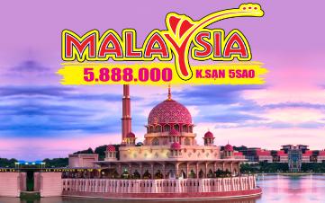 DU LỊCH MALAYSIA 4N3Đ