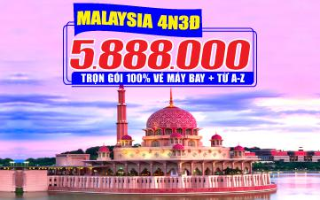 Tour Malaysia 4N3Đ - Đồng Thương Hiệu GROUPTOURVN