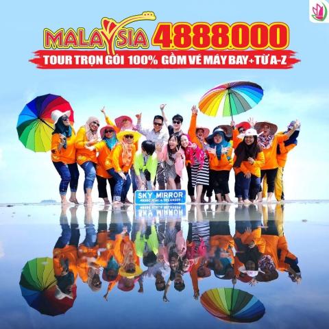 """OANH TẠC """"GƯƠNG MẶT TRỜI KHỔNG LỒ"""" – SKY MIRROR CỰC HOT Ở MALAYSIA"""