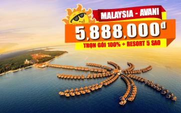 Du lịch Malaysia 3N2Đ |AVANI Thiên đường biển Maldives | Gentting | Batu |Kualalumpur | 5sao
