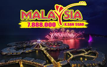 Du lịch Malaysia nghỉ dưỡng 5sao Lexis Hibiscus PD | Malacca | Kualalumpur 4N3Đ