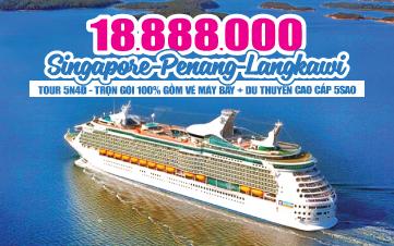 Du thuyền 5SAO Singapore | Malaysia - Penang - Langkawi
